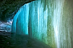 Ice Cave (Doug Wallick) Tags: blue winter color ice water minnesota flow frozen cool dangerous minneapolis landmark falls cave behind slippery minnehaha lightroom a55 explored mygearandme mygearandmepremium mygearandmebronze mygearandmesilver mygearandmegold mygearandmeplatinum