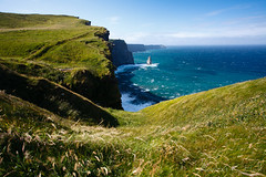 Cliffs Of Moher (Aaron K Hall) Tags: ocean blue ireland green field grass canon coast is europe rocky cliffs 5d cliffsofmoher ef rolling 24105 ire f4l imagestabilizer imagestabiliser