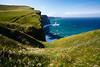 Cliffs Of Moher (Aaron K Hall) Tags: ocean blue ireland green field grass canon coast is europe rocky cliffs 5d cliffsofmoher ef rolling 24105 éire f4l imagestabilizer imagestabiliser
