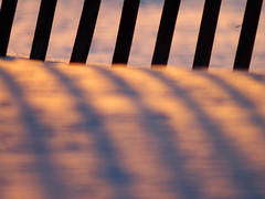 sunset colour (5) (Ange 29) Tags: light sunset canada king shadows olympus om zuiko township omd f63 em1 400mm snowfence