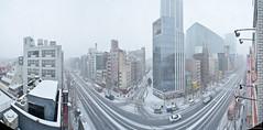 201428  akihabara akiba (PhotoAkiba) Tags: winter panorama snow japan tokyo mainstreet panoramic   akihabara akiba   electrictown  panoramicview      2014