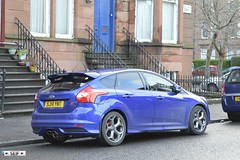 Ford Focus ST Glasgow 2015 (seifracing) Tags: blue cars ford lights scotland focus glasgow scottish police vehicles polizei spotting strathclyde motorsport 2015 seifracing
