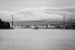 Lion's Gate Bridge in the early evening (temaher) Tags: canada vancouver nikon bc britishcolumbia pacificnorthwest d7000
