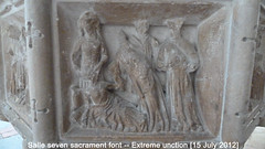 2012 Jul 15 Salle 15c 7 sacrament font, extreme unction (dalevreed) Tags: lowcontrast infocus highquality england2012