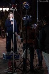(Georgina iliaki) Tags: camera broadcast television night lights tv streetlight athens greece microphone interview recording livebroadcast tvcameraman
