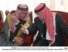 جلالة الملك عبدالله الثاني يقدم واجب العزاء لأسرة الشهيد معاذ الكساسبة في الكرك