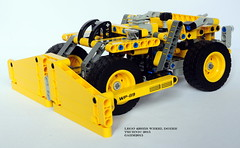 Lego Technic 42035B Wheel Dozer (KatanaZ) Tags: lego technic miningtruck wheeldozer alternatedesign lego42035b lego42035