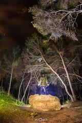 El guardabosques / The ranger (PacoQT) Tags: lightpainting valencia canon noche bosque pinos monasterio gilet mediterrneo vegetacin 6d calderona sierracalderona campdemorvedre morvedre rearecreativa pacoqt pacoquiles ultrafire ledlenser santoespritu