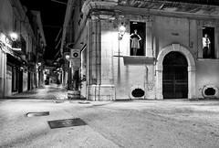 San Severo - Marzo 2016 (Maurizio Tattoni....) Tags: leica blackandwhite bw italy bn puglia notte biancoenero monocrome sansevero daunia capitanata mauriziotattoni