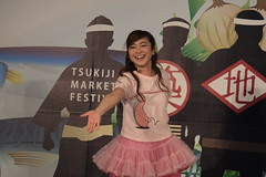 KIRIMI girl dancing (HAMACHI!) Tags: woman girl japan lady tokyo moving spring dancing sanrio tsukiji 2016 xc50230mmf4567ois 50230mm kirimichan kirimiちゃん
