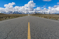 On the road (Basak Prince Photography) Tags: rain clouds landscape bishop strom easternsierra clearingstorm