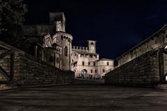 Midnight in the old town # 1 (antoniopedroni photo) Tags: italy night piacenza notte castel mezzanotte medioevo middleage castellarquato