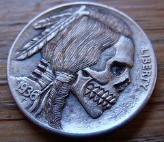 "'Stop All Terror' Hobo nickel • <a style=""font-size:0.8em;"" href=""http://www.flickr.com/photos/72528309@N05/26561461540/"" target=""_blank"">View on Flickr</a>"