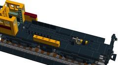 English Electric 800 Class Locomotive (RS 1990) Tags: railroad museum lego diesel australian engine railway loco locomotive 1956 ideas southaustralia sar switcher 801 shunter 2016 ldd 60thanniversary portadelaide englishelectric cuusoo digitaldesigner 800class
