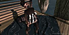 Peanut Buttah :: Inner Ways:: (stylizedchaos) Tags: fashion mask secondlife nana poses kinky aesthetica slevents delmay clemmm adoness suicidedollz chemicalprincess thedarkstylefair3 tdsf3