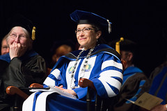 President Battles (SUNY Geneseo) Tags: school spring education president graduation ceremony commencement masters graduate denise kw battles accounting 2016 graduating a spring2016