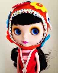 Loving this girl so much! ❤️ (vintagecitygem) Tags: neo allgoldinone blythedoll ebl cherryberry customooak fauxgoldie genuinetakara wannabebl