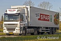 DAF CF 85  NL  'Peter Appel' SPAR 160421-0001-C4 JVL.Holland (JVL.Holland John & Vera) Tags: holland netherlands truck canon europe transport nederland nl spar vervoer dafcf85 peterappel jvlholland