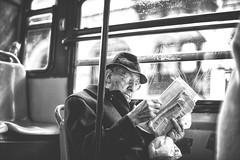 On the bus (-Makar79-) Tags: 6d canonef50mmf12lusm streetphotography blackandwhite people genova liguria italia mono monochrome biancoenero canonprime 50l