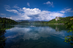 Sport activity at the lake Bled - Slovenija (R.Smrekar-CH) Tags: lake landscape spring d750 bled slovenija 000000 smrekar
