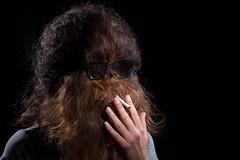 19/52 Back Portrait: Chewbacca? (arna35) Tags: portrait chewbacca 52weeksthe2016edition week192016 weekstartingfridaymay62016