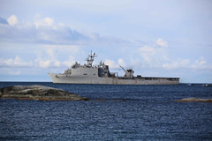 160610-N-PF515-001 (CNE CNA C6F) Tags: sweden balticsea usnavy uto usmarines 2016 expeditionaryminecountermeasures usnavyreservists baltops2016