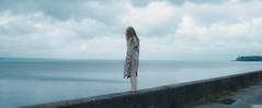 Stopnik (killmealli) Tags: sea people girl beauty clouds 50mm daylight nikon sad sensual melancholy tenderness nuthouse feelins staschmel