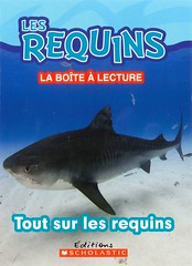 Tout sur les requins (Vernon Barford School Library) Tags: new school fish animals french reading book shark high marine underwater library libraries reads books read paperback cover junior sharks covers bookcover middle vernon undersea français recent bookcovers languages nonfiction paperbacks foreignlanguages foreignlanguage barford lote softcover marineanimals secondlanguage languagesotherthanenglish vernonbarford softcovers secondlanguages 9781443145503