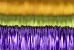 Colorful wire [In Explore 2016-06-14] (annesjoberg) Tags: macro colors wire nikon purple stripes lila makro mondays nikond3200 rander ränder metalltråd macromondays nikonphoto