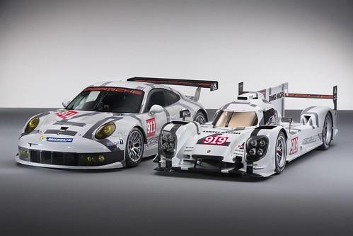 Porsche 919 Hybrid и 911 RSR
