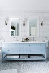powder-blue-tile-walls-cabinetry-design_cool-chic-style-fashion (Cool Chic Style Fashion) Tags: blue colors photography amazing pastel images paleblue happyweekend decorinspiration styleinspiration