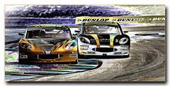 Ginetta Junior Stuart Middleton leads William Tregurtha solarisation v2 (jdl1963) Tags: auto sport william racing stuart junior motor motorsport autosport ginetta middleton thruxton 2016 gt5 tregurtha