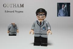 Edward Nygma: aka The Riddler - Gotham (TheCampervanTom) Tags: dc lego edward batman gotham riddler nygma