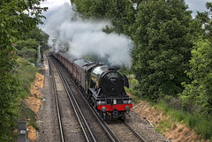 60103 Flying Scotsman (Geoff Griffiths Doncaster) Tags: flying cathedrals lane express scotsman syon 60103