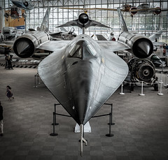 SR71 (JM Clark Photography (jamecl99)) Tags: sr71 airplane supersonic seattle museum flight museumofflight washington