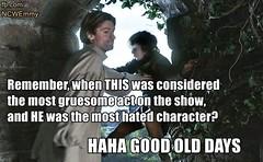 Game of thrones funny meme. Good old days #GameofThrones #GoT #Tyrion #Lannister #Arya #Stark #Daenerys #Targaryen #JonSnow #Hodor #Humor (GameofThronesFreak) Tags: snow game jon humor arya got stark thrones daenerys tyrion lannister targaryen hodor