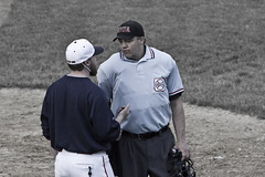 The Explanation (brucetopher) Tags: game coach call play baseball rules argument discussion rule ump argue passtime regulations discuss americasfavoritepasstime