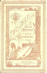 Galesburg Couple (ilgunmkr - Thanks for 4,000,000+ Views) Tags: usa unitedstatesofamerica 19thcentury victorian cabinetcard 1880s galesburgillinois victorianlady victoriangentleman knoxcountyillinois loomisphotographers wewbloomis walterbloomis