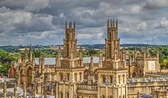 OXFORD (toyaguerrero) Tags: uk inglaterra england stone architecture university britain allsoulscollege saintmarythevirgin oxforshire maravictoriaguerrerocataln toyaguerrero