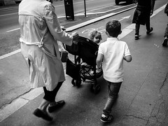 Curiosity (DanieleS.) Tags: photo photography shot wow amazing cool great good dannyboy ilovedannyboy daniele salutari kid people black white bianco nero street fotografia di strada milano milan mono monochrome kids walking spring 2016 urban city life