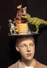 Brain Salad Surgery (skipmoore) Tags: sculpture artist dinosaur sausalito trex claudiacohen winteropenstudios