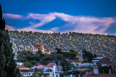 Afternoon in my hometown (Vagelis Pikoulas) Tags: trees tree church canon landscape europe afternoon greece tamron vc 6d 70200mm 2016 vilia
