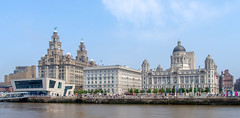 The Three Graces (planetreeimages) Tags: architecture liverpool waterfront threegraces