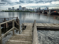 (mahler9) Tags: city bridge cambridge urban boston skyline pier charlesriver may wharf longfellow jaym 2016 mahler9