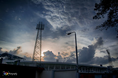 Zohur Ahmed Chowdhury Stadium,Chittagong...(HDR) (ChanraKana) Tags: nikon d5200 1855mm chittagong sky clouds hdr landscape bangladesh