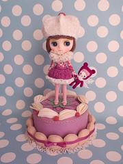 Birthday Cupcake Middie set