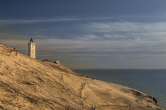No. 1064 Rubjerg knude Lighthouse (H-L-Andersen) Tags: sea sky lighthouse seascape beach nature water canon landscape denmark eos landscapes sand glow dunes 6d rubjergknude landoflight rubjergknudefyr canoneos6d rubjergknudelighthouse hlandersen