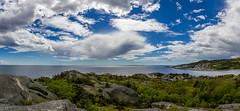 View from Ula (Jan-Roger Olsen) Tags: ocean panorama nature water norway clouds landscape norge outdoor no natur may naturallight mai vann skyer hav landskap ula vestfold 2015 2015may