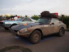 1972 - Datsun 240Z (Jasonito) Tags: paris classic car russia rally olympus retro oldtimer motor  omsk challenge peking 6th omd the 2016    em5   parispeking beijingparis   panasonic14140mmf4058 omdem5