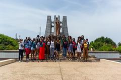 """We Face Forward"" (Garrett.Williams) Tags: africa green stone memorial ground international ghana burial accra"